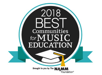 "District 300 Named one of the ""Best Communities for Music Education"""