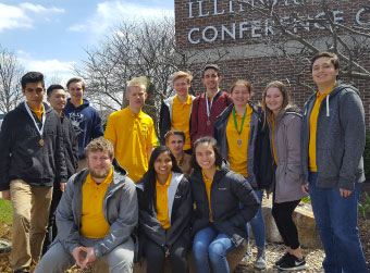 Jacobs High School's WYSE Team Places 6th in State